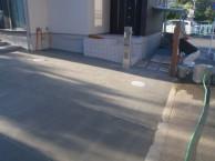 駐車場コンクリート アップケート柱